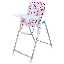 【麗嬰房】Merissa 美瑞莎 兒童用高腳餐椅-粉紅三角星