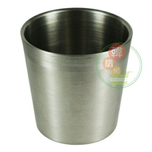 【韓購網】韓國304雙層不鏽鋼水杯★304不銹鋼製★環保餐具