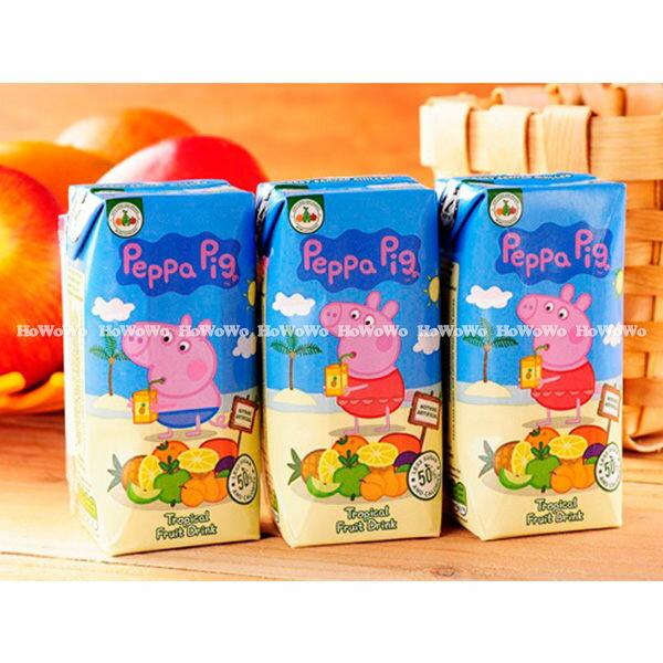 Peppa Pig 粉紅豬小妹(佩佩豬)  熱帶水果風味果汁 200ml (3入) 6244 好娃娃
