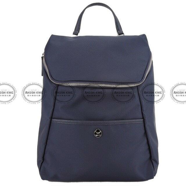 Outlet代購 agnes.b 新款簡約後背包 小b (藍色) 四色 書包 通勤包 雙肩包 斜挎包 防水 0
