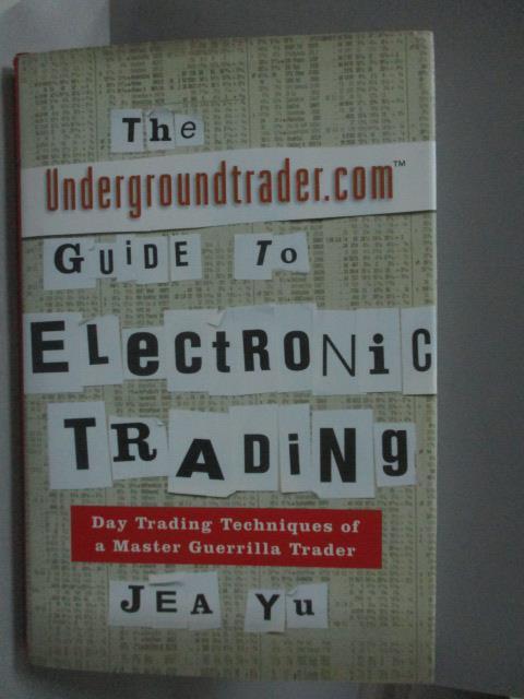 ~書寶 書T1/原文書_ZFX~The Undergroundtrader.com Gui