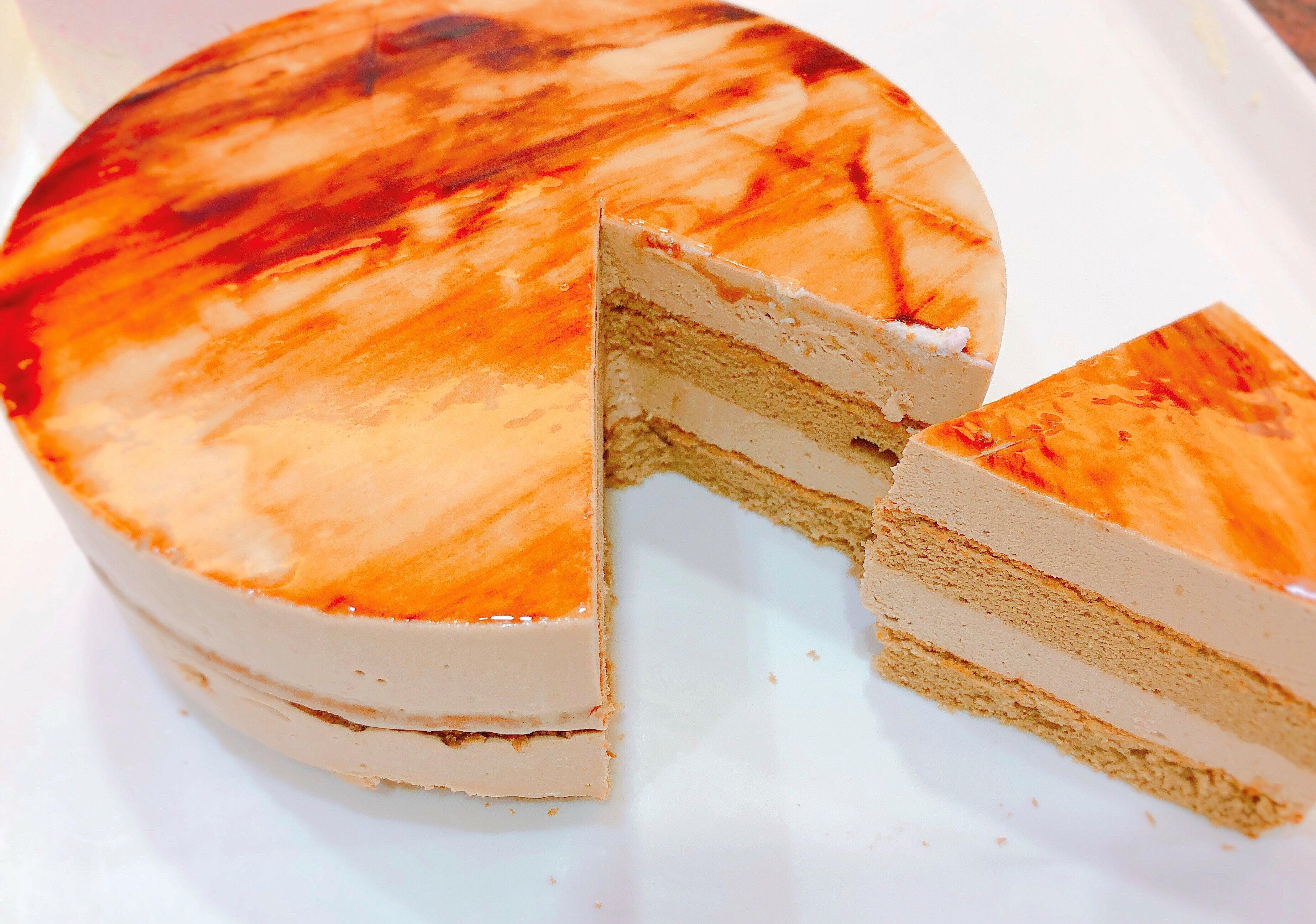 6吋咖啡慕斯蛋糕 蛋糕/咖啡蛋糕/慕斯蛋糕/甜點/下午茶/彌月蛋糕