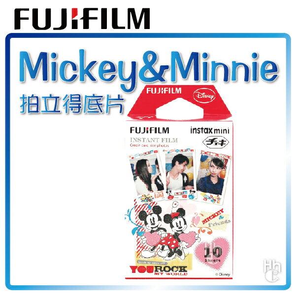 【和信嘉】拍立得 迪士尼 米奇&米妮 底片 Disney Mickey Minnie 富士 FUJIFILM Mini8 / Mini25 / Mini50S / Mini70 / Mini90 / ..