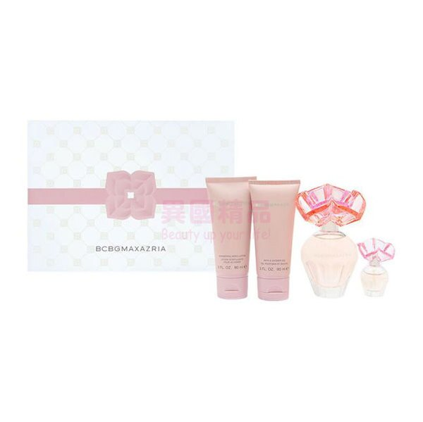 BCBGMaxAzria女用香水四件禮盒組【特價】§異國精品§