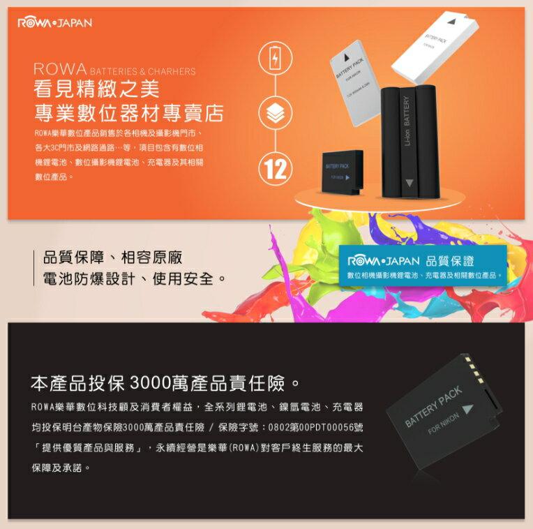 郵寄免運 樂華 ROWA NP-FZ100 副廠 相機鋰電池 電池 FZ100 適用 A9 A7R3 A73