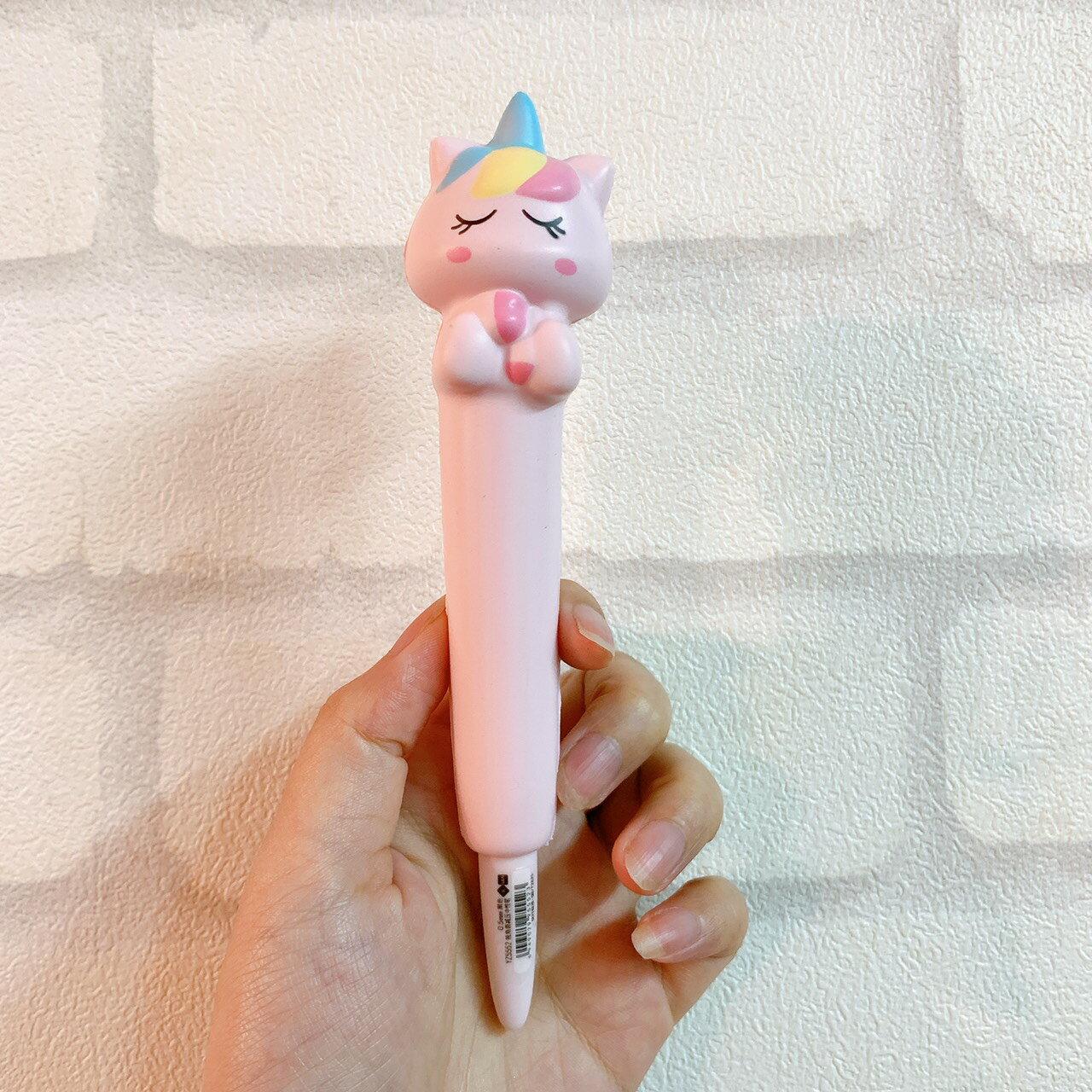 動物造型紓壓筆 超萌減壓筆 療癒小物 好寫筆 中性筆0.5mm 辦公用品 創意文具 交換禮物 現貨 8