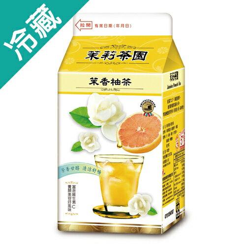光泉茉莉茶園-茉香柚茶400ml【愛買冷藏】