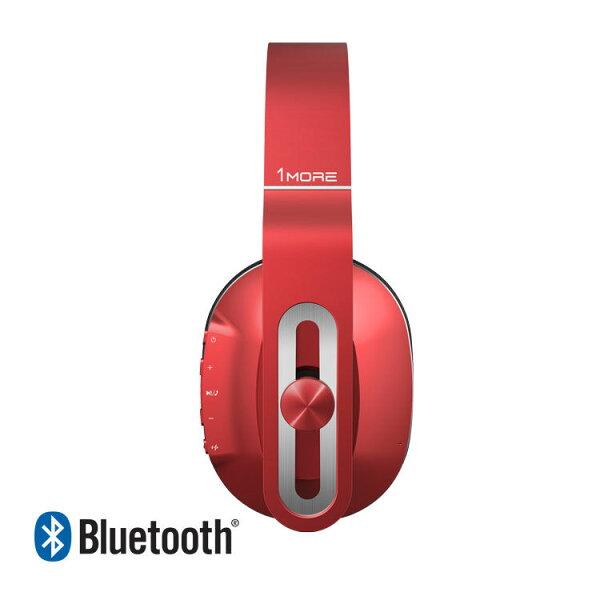 【迪特軍3C】1MORE周杰倫品牌MK802輕智能藍牙耳罩式耳機(紅)-耳麥耳機(限量送CPB601行動電源)JAY