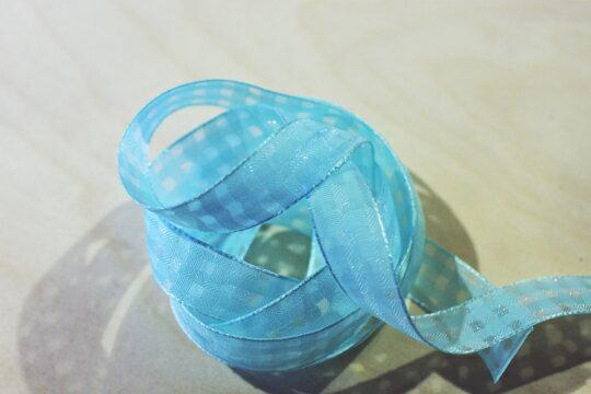 素色格網緞帶-15mm3碼(20色) 4