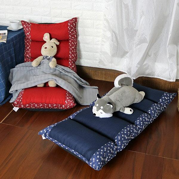 和室椅 和室電腦椅 休閒椅 《小白花拼布記憶和室椅》-台客嚴選