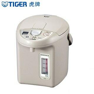 【虎牌】超大按鈕電熱水瓶 - 3.0L PDN-A30R