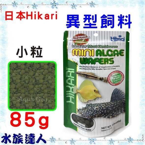 【水族達人】日本Hikari《高夠力 異型飼料 小粒 85g 21416 》沉水性 異形 蝸牛 藻食性 日本製造