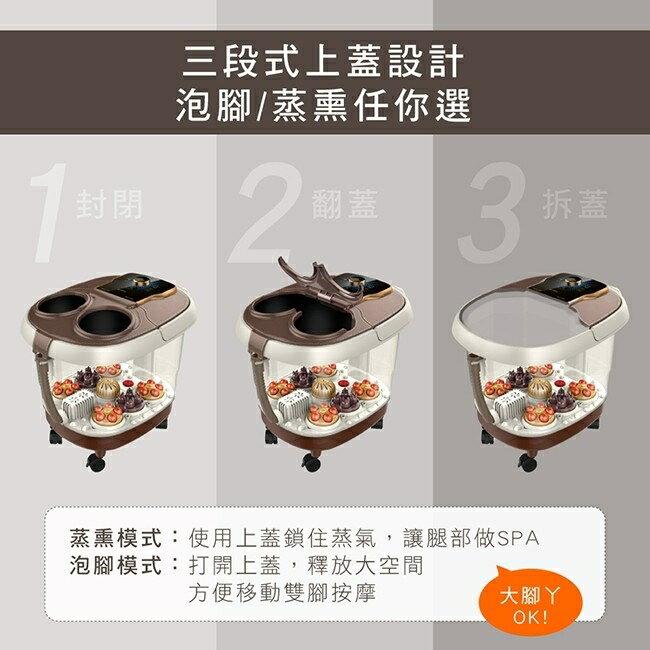 KINYO 智能恆溫電動按摩足浴機 IFM-5008