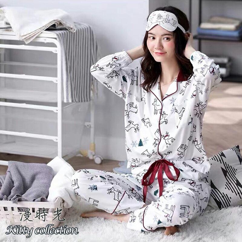 聖誕麋鹿居家套裝(衣+褲)