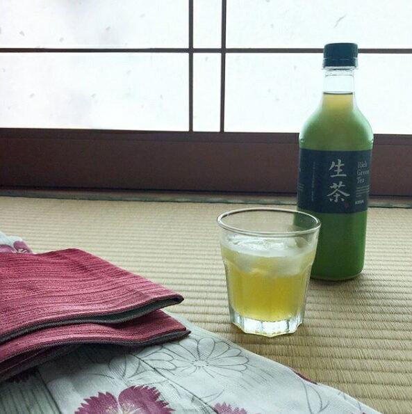 【豆嫂】日本飲料 麒麟生茶(555ml)