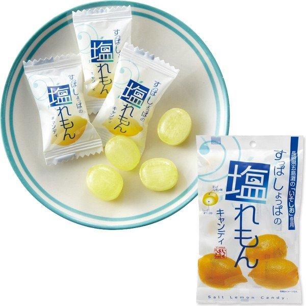 松屋鹽檸檬糖 98.4g【4978087878002】(日本糖果)