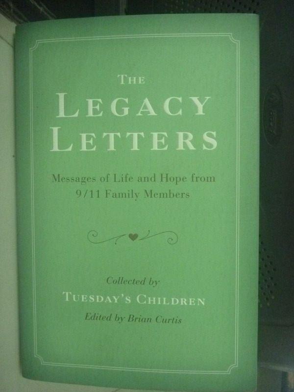 【書寶二手書T3/財經企管_ZIC】The Legacy Letters_Tuesday
