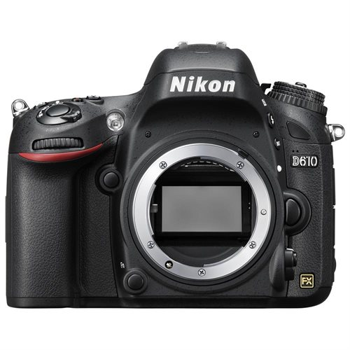 "Nikon D610 24.3 Megapixel Digital SLR Camera Body Only - 3.2"" LCD - 16:9 - 6016 x 4016 Image - 1920 x 1080 Video - HDMI - PictBridge - HD Movie Mode 0"