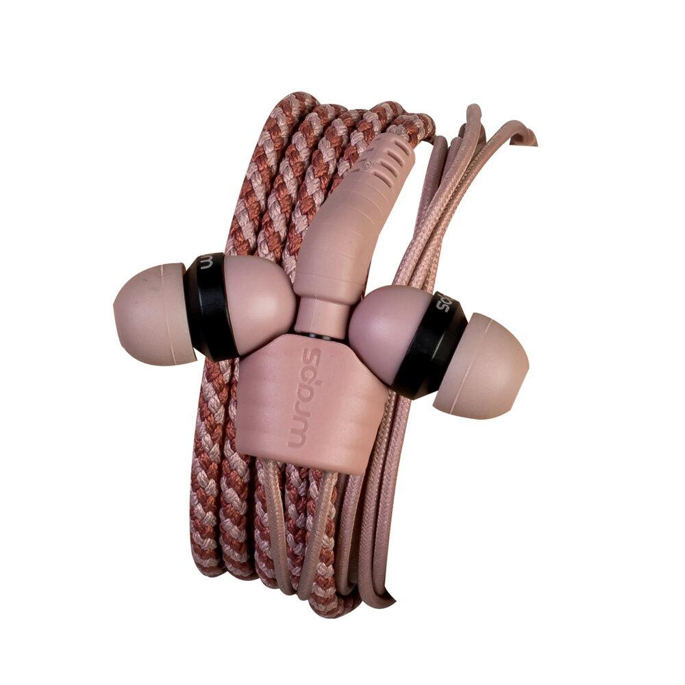 Wraps【Limited】粉彩時尚編織手環耳機(限定款) 1