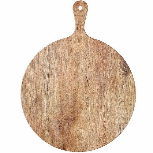 《KitchenCraft》槳型圓面輕食盤(木紋)