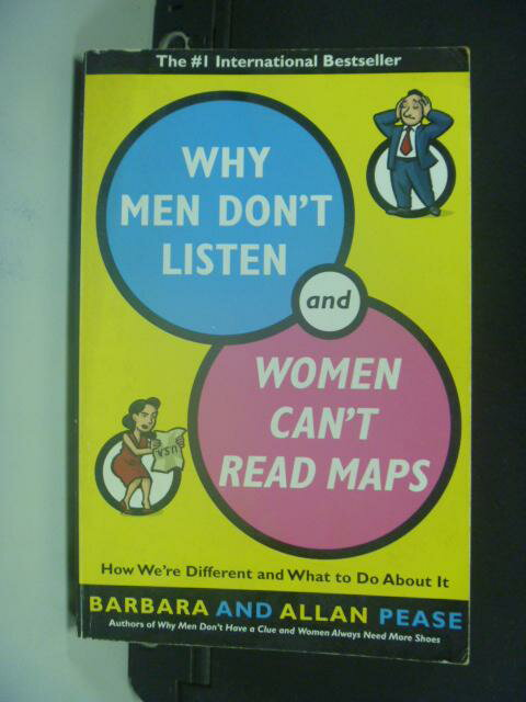 【書寶二手書T9/兩性關係_KFU】Why Men Don't Listen and Women Can't …