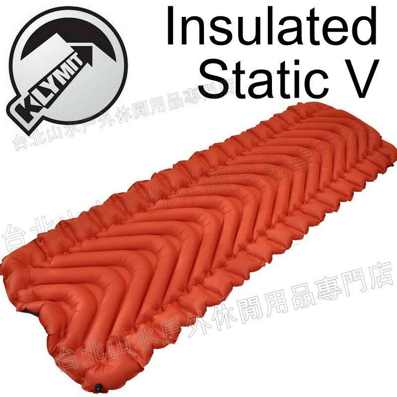Klymit   登山睡墊 健行 露營 Insulated Static V 充氣睡墊