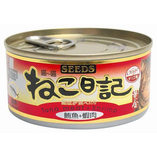 喵喵鮪魚+蝦肉魚風味貓罐170g【愛買】