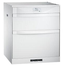 喜特麗落地/下嵌式臭氧殺菌烘碗機冰晶白/60cm/JT-3162QGW