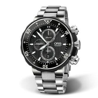 ORIS 豪利時 0177477277154-Set Oris限量表鈦合金械腕計時套錶/51mm