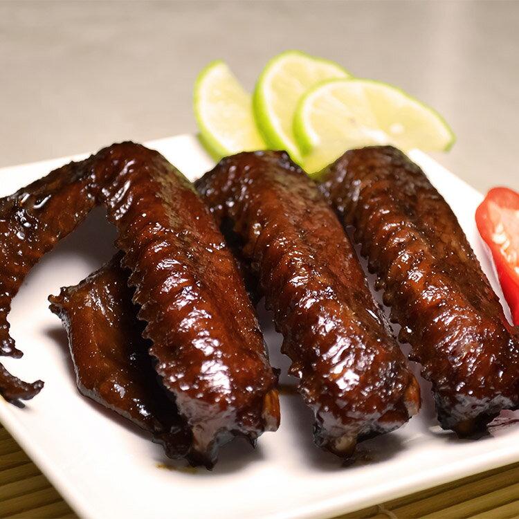 【珍廚坊 招牌香滷鴨翅】肉質飽滿大鴨翅3入|料理級滷味/新鮮現滷|新鮮鴨肉|團購美食|真空包裝退冰即食/古早好滋味