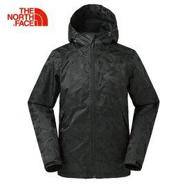 [THENORTHFACE]男DryVent2L防水外套黑迷彩公司貨NF0A366TXC3
