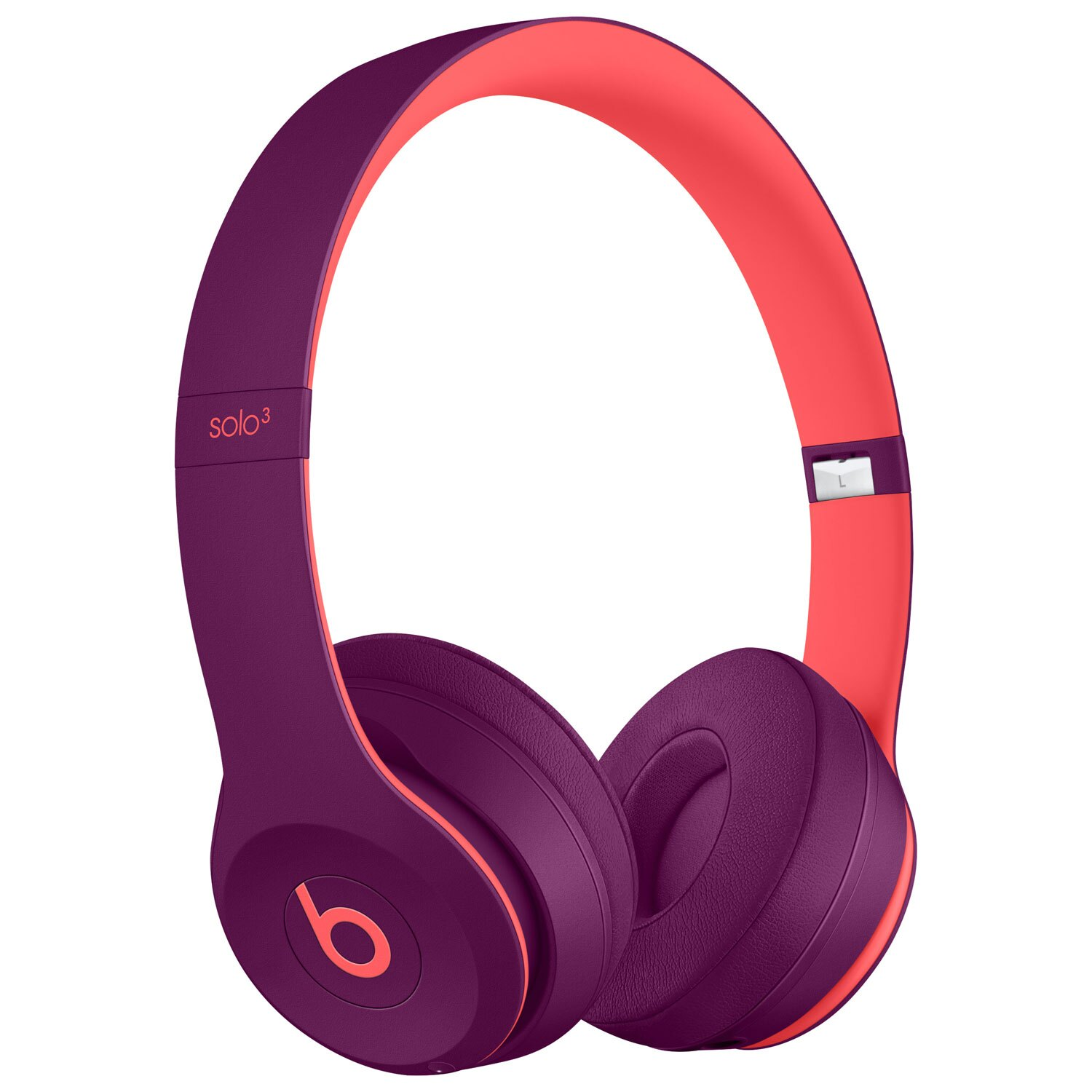 Beats by Dr. Dre Solo3 Over-Ear Wireless Pop Magenta Headphones