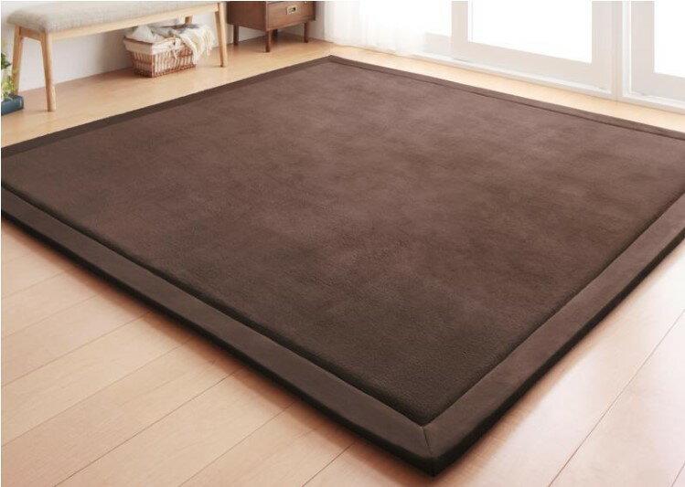 出口日本等級 日本原單 130*190CM 高級纖細珊瑚絨地毯 /  爬行墊 /  遊戲墊 /  榻榻米墊 /  運動墊 /  瑜珈墊 /  地墊 (如需其他尺寸也能訂做) 1