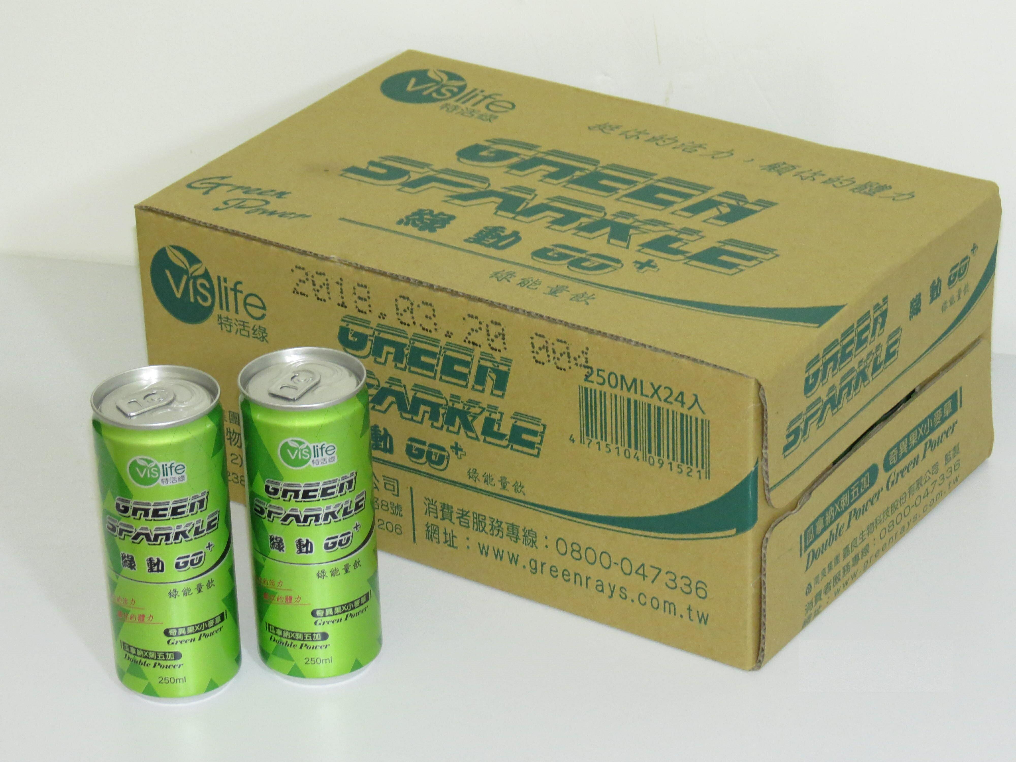 【康健天地】特活綠。綠動GO+綠能量飲(24入/箱)