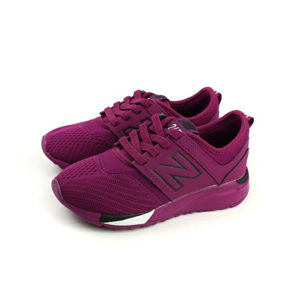 New Balance 247 運動鞋 跑鞋 紫色 中童 童鞋 KA247T4P no339