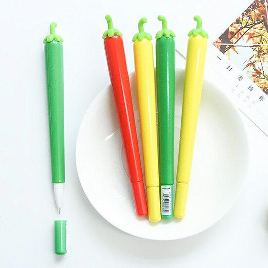 ♚MYCOLOR♚創意辣椒0.5mm中性筆文具學生辦公用品韓國可愛水性筆【P131】