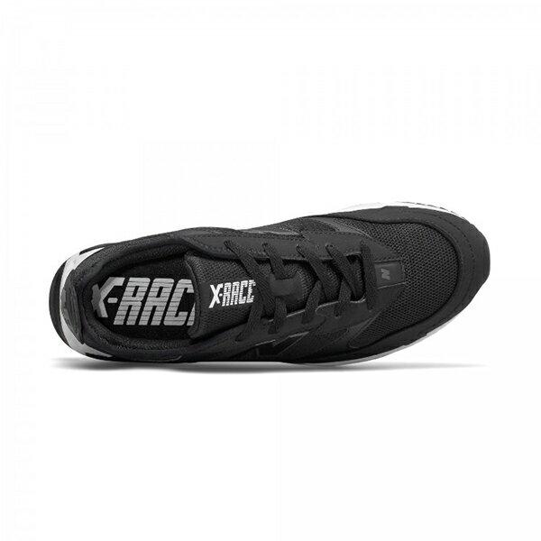 11月【NEW BALANCE】NB X-Racer 復古休閒鞋 黑 男女鞋 -MSXRCFOD 1