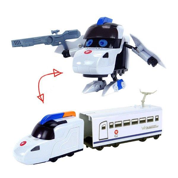 【888便利購】高鐵俠變型小火車(盒裝版)