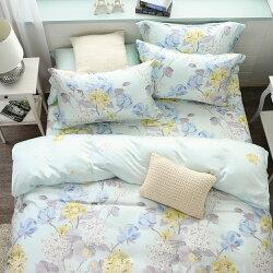被套床包組/天絲300織/四件式雙人薄被套特大床包組/Floral[鴻宇]台灣製2057