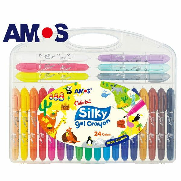 韓國AMOS 24色中款神奇水蠟筆(台灣總代理公司貨)