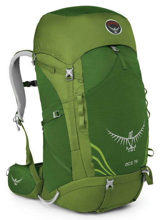 【鄉野情戶外專業】 Osprey |美國| ACE 75 登山背包—青少年款/旅行背包 健行背包/Ace75 【容量75L】