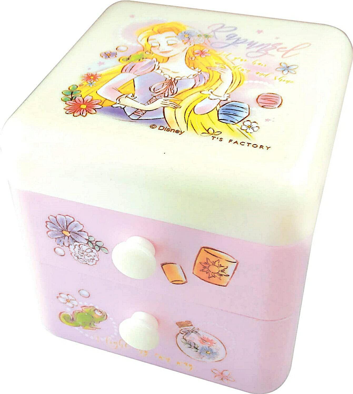 長髮公主Rapunzel 樂佩雙層抽屜櫃,置物盒 / 收納盒 / 抽屜收納盒 / 筆筒 / 桌上收納盒,X射線【C107094】 - 限時優惠好康折扣