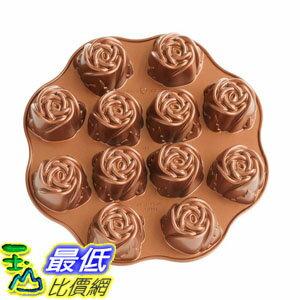 [107美國直購] 烤盤 Nordic Ware Nonstick Sweetheart Rose Baking Pan