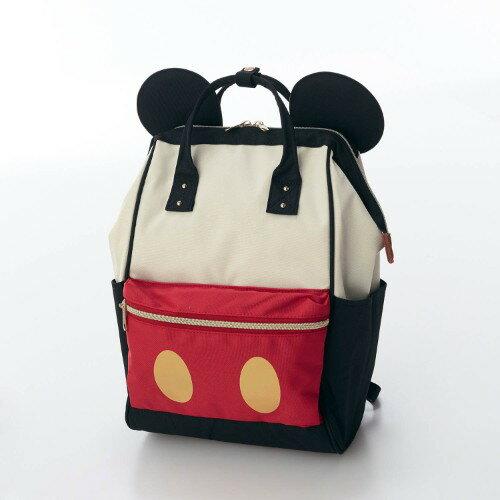日本Disney迪士尼限量包包 / Mickey Mouse米老鼠-米奇造型後背包 / 288-16490-日本必買 日本樂天代購(6000*0.6) 0