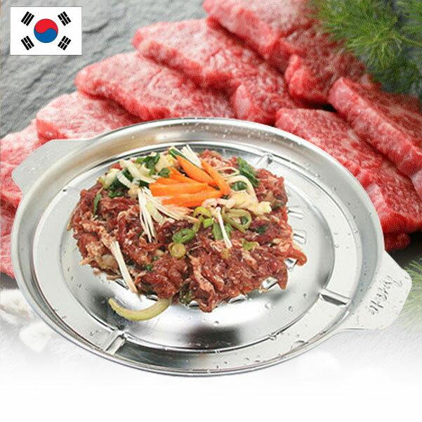 韓國 Characin 銅盤烤肉 29cm 不銹鋼烤盤 室內 戶外 烤盤 銅盤 韓國烤肉