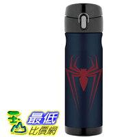 THERMOS 膳魔師保溫杯/保溫瓶/燜燒鍋推薦到[106美國直購] Thermos Spiderman 蜘蛛人 16 Ounce 不鏽鋼保溫運動水壺