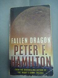【書寶二手書T2/原文小說_HHF】Fallen Dragon_Peter F. Hamilton