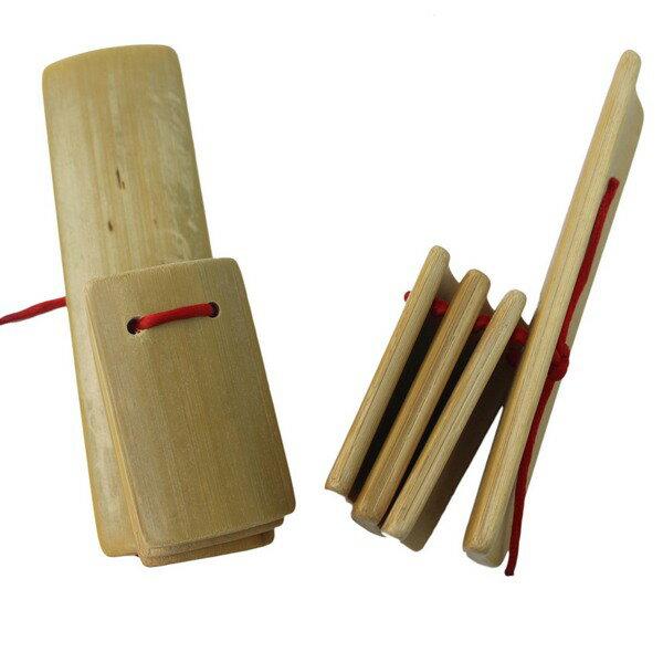 數來寶竹板相聲響板(空白面.4片式)一袋50個入{促25}拍板樂器快板數來寶響板彩繪相聲竹板~6388~3874A