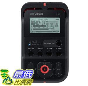[7美國直購] Roland High-Resolution Handheld Audio Recorder, black (R-07-BK) (R-05 的新款) 數位錄音機