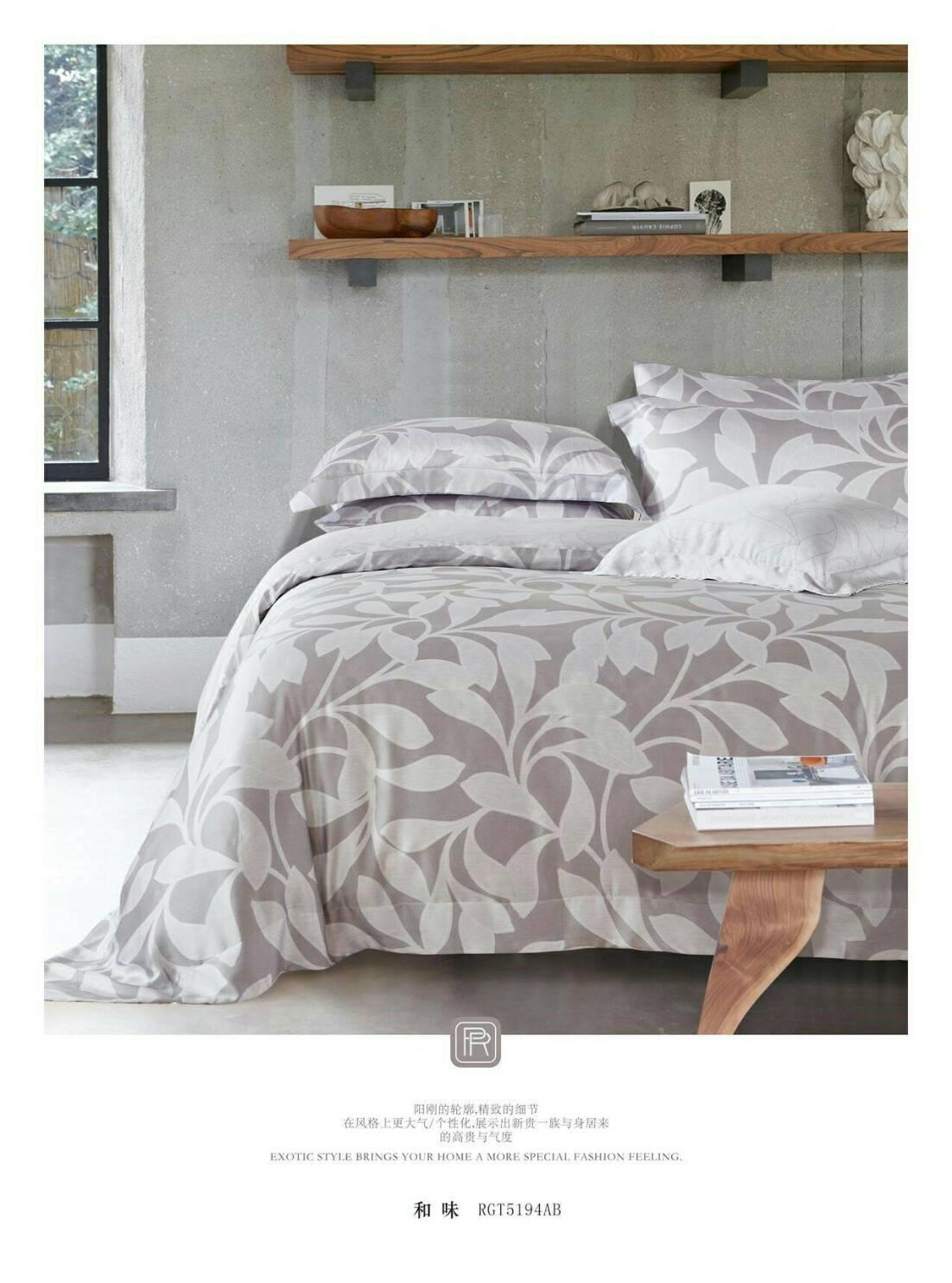 熱銷款【嫁妝寢具】專櫃TENCEL .頂級100%天絲 .七件式床罩組/另有加大